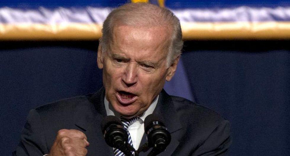 Joe Biden hammers Trump for 'sick message' exploiting xenophobia