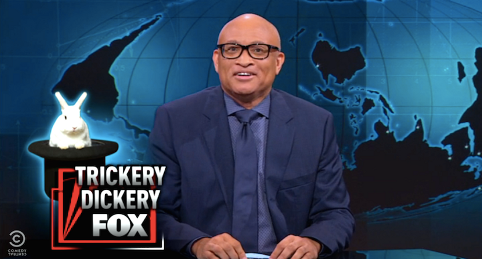 Larry Wilmore: Black Lives Matter turned into phony war on cops by 'magic' -- 'the magician? Fox News'