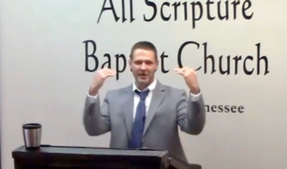 Sheriff's Detective says he's 'sick of sodomy' – delivers Bible-pounding sermon calling for execution of LGBT people