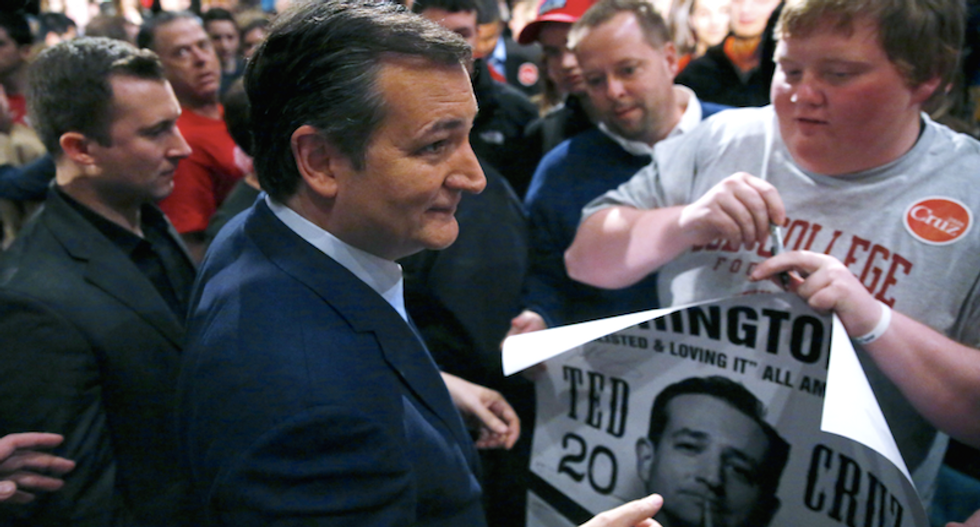 Ted Cruz aims to emerge from Wisconsin as Trump alternative
