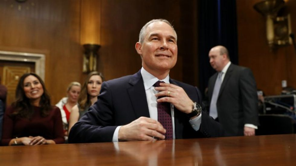 'Trump isn't fazed': Scott Pruitt's job is safe after using EPA to solicit Chick-Fil-A franchise for wife, source says