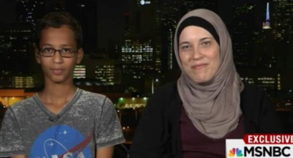 'You are the kind of student we want': MIT surprises Ahmed Mohamed during live interview