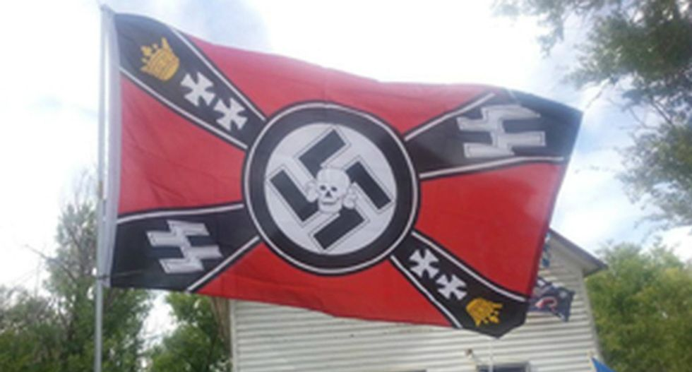 North Dakota town may vote to dissolve rather than allow white supremacists to take it over