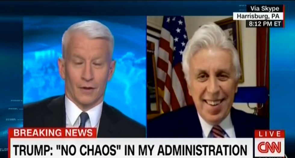 Stunned Anderson Cooper hammers Jeffrey Lord: Can Trump do anything 'that you would ever criticize?'