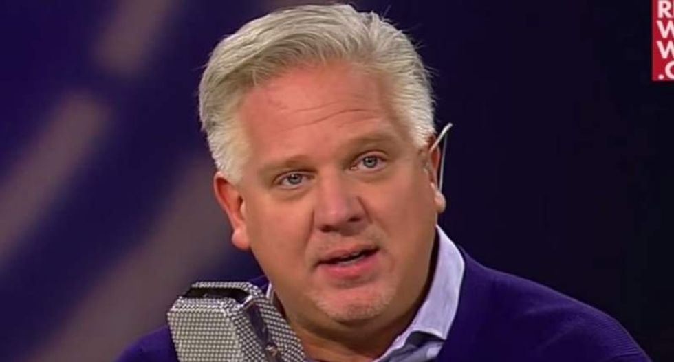Glenn Beck claims Fox told him not to push prayer because it takes God's attention off of war