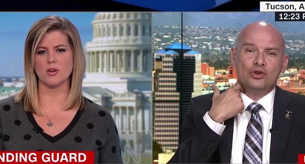 CNN's Brianna Keilar corners a flailing border patrol leader over claim Obama holdovers are sabotaging Trump
