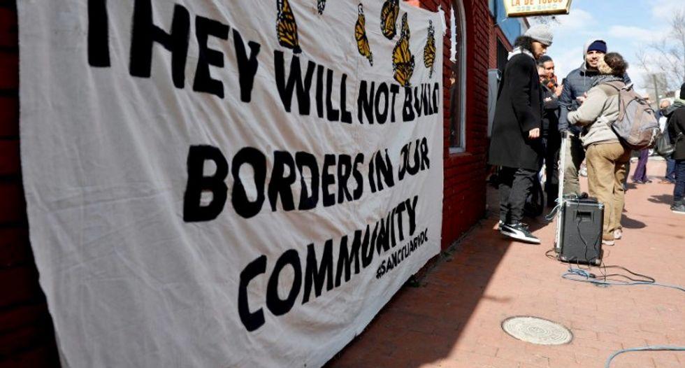 US immigrants skip work, school in anti-Trump protest