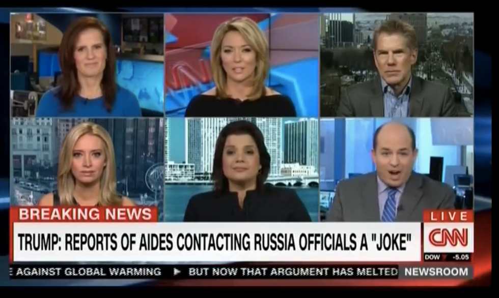'I got nothing': CNN panel calls Trump presser a '1 hr and 15 min episode' of 'latest reality show'