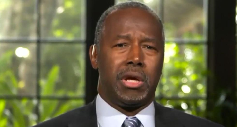 Ben Carson explains how owning Mar-a-Lago proves Trump 'is not a racist'