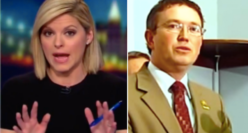 GOP lawmaker stuns CNN's Kate Bolduan: 'Deep State' trying to trick Trump into war with Russia