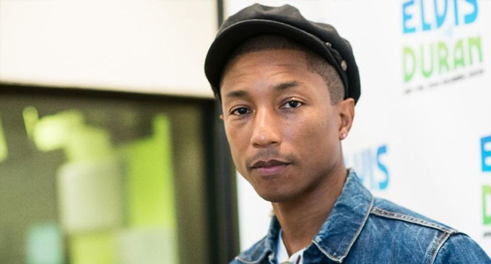 Pharrell faces protest by thousands of Palestinian at South African concert
