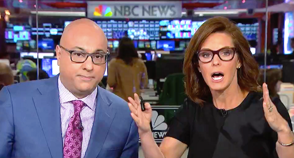 'Sloppiest thing I've ever seen': MSNBC's Velshi and Ruhle blast Trump and Kudlow for scaring investors with lies