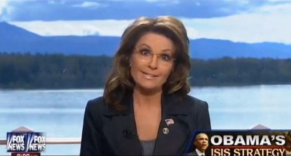 Sarah Palin accuses Elizabeth Warren of 'stealing' her 'fight like a girl' line