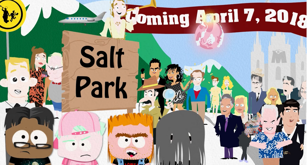 GOP consultant launches hilarious 'South Park' parody targeting Mormon Church's tax-exempt status