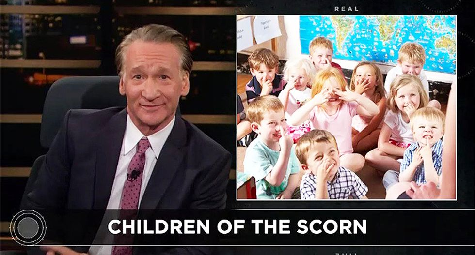 Maher stands up for striking educators: 'Teachers should make more than the night manager at Game Stop'