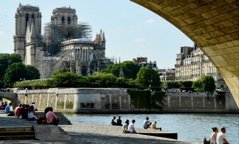 Notre-Dame cathedral 'still at risk of collapse' after fire