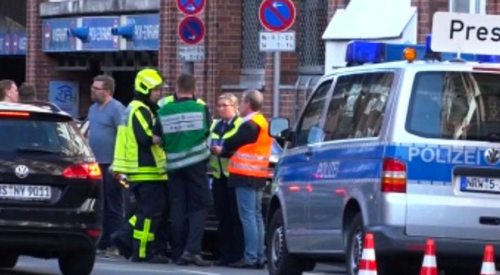 At least two dead after man drives van into restaurant in Germany in possible terrorist attack