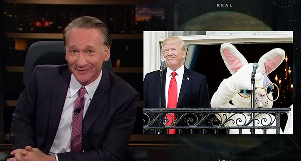 Bill Maher nails Trump's Easter Egg Roll: 'The first bunny he hasn't f*cked and forced to sign an NDA'