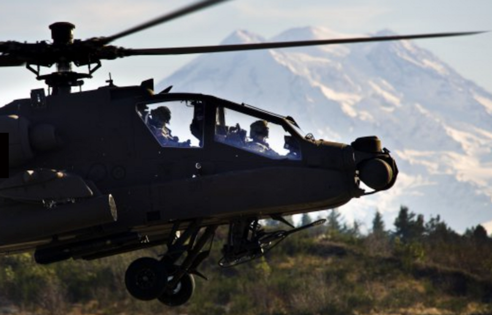 Yet another US military helicopter crashed this week -- and people are wondering what's going on