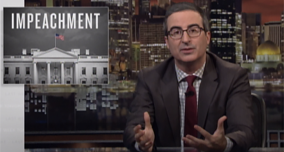 John Oliver perfectly explains the Mueller report in a way all Americans can understand