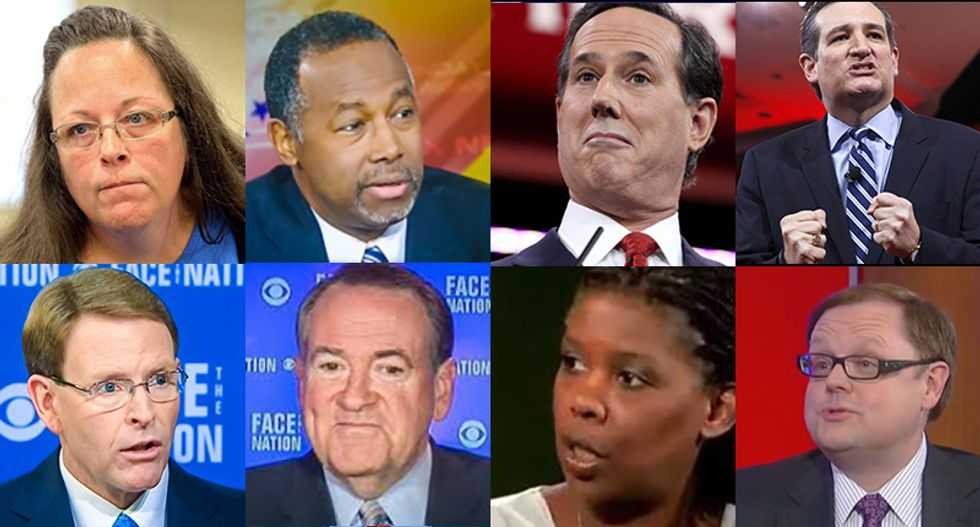 Bigots, radical fundies and GOP presidential contenders: Your guide to the 2015 Values Voter Summit