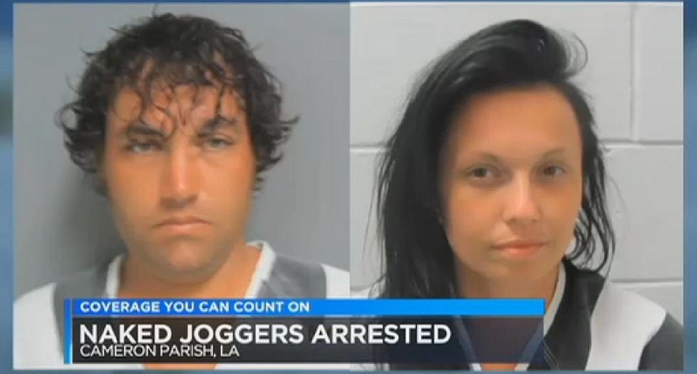 Police arrest naked-jogging Alabama couple after finding sunburned, bug-bitten baby alone on beach