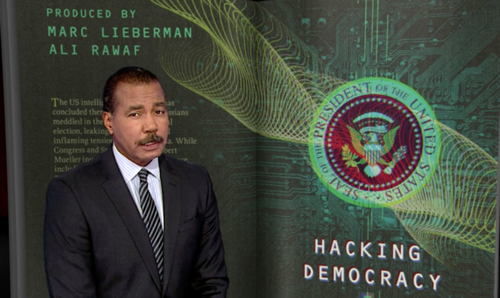 'Bows and arrows against the lightning': Watch 60 Minutes reveal new details of Russia's election system hacking