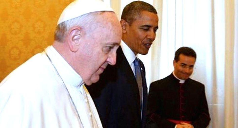 Pope Francis canonizes Spanish friar Junipero Serra despite Native American protests