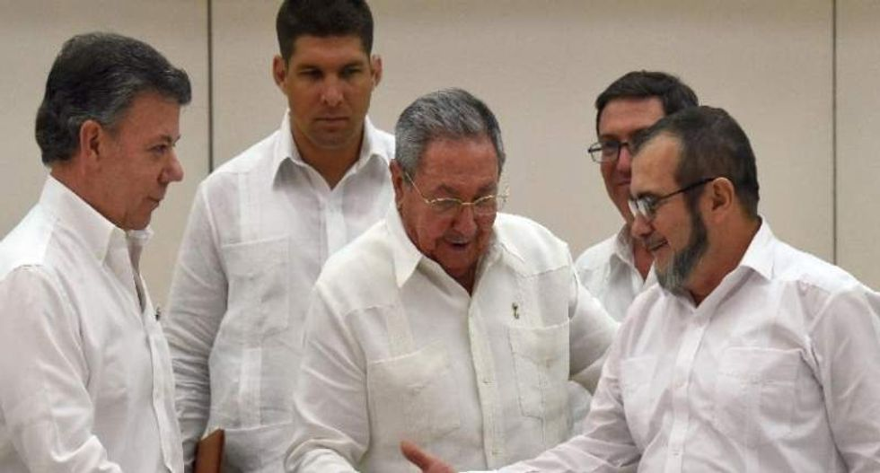 Colombian government vows to settle 50-year conflict with FARC rebels 'within six months'