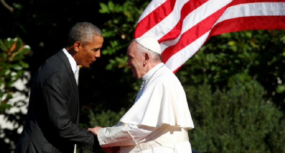 Pope Francis set to address fractious US Congress today in first-ever joint session speech