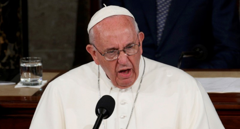 Pope Francis tells Congress US should reject hostility to immigrants