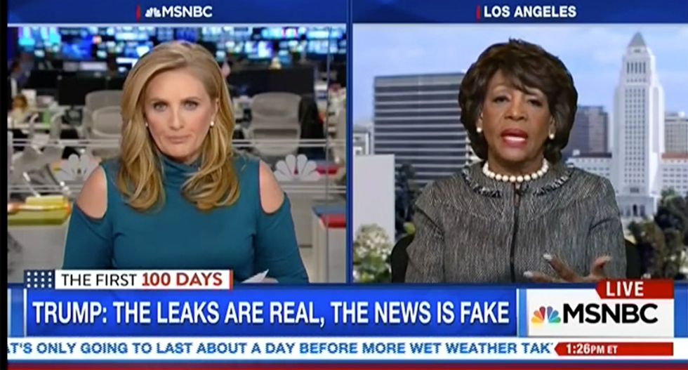 Maxine Waters: US policies on Russia are being dictated by a 'Kremlin clan' inside the White House