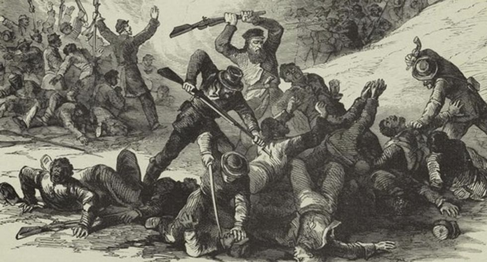 This massacre of black soldiers during the Civil War is reason enough to bring down the Confederate statues