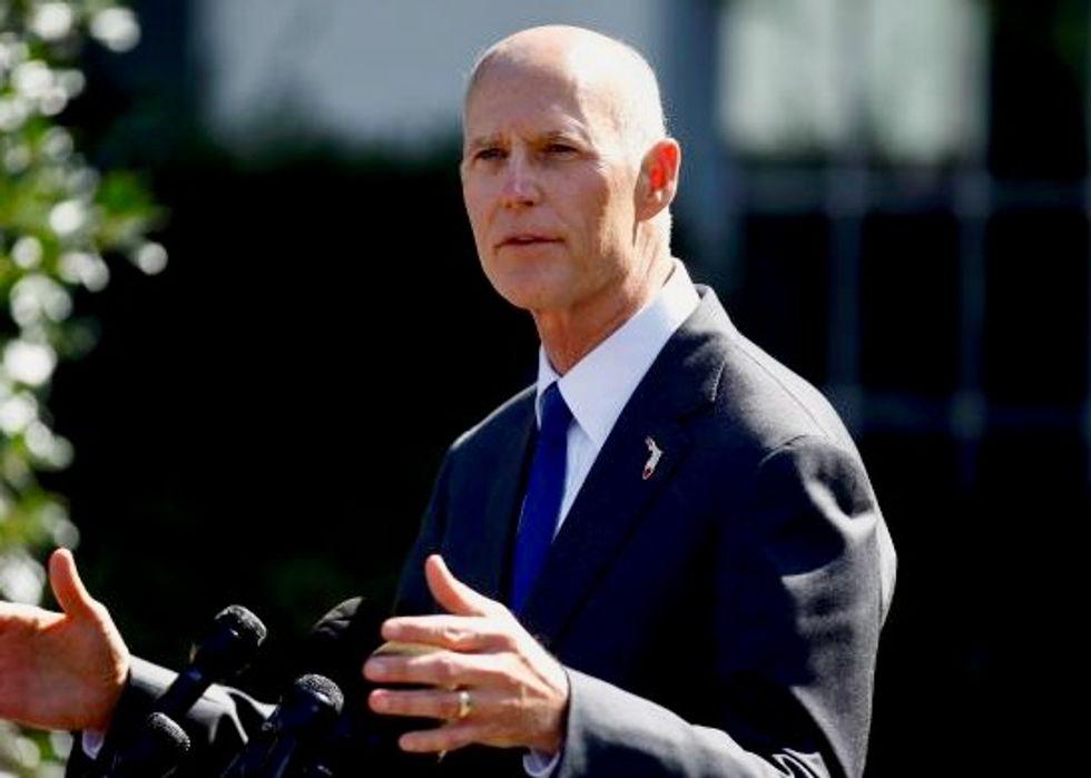 Florida Republican Governor Rick Scott launches US Senate run