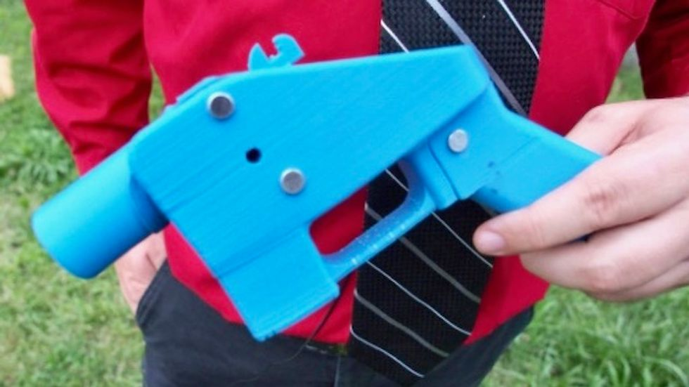 UK makes 'first' conviction over 3D printed gun