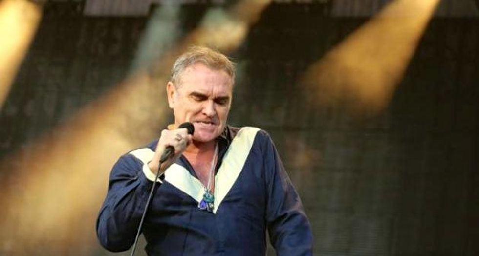 Morrissey's debut novel panned by critics in UK