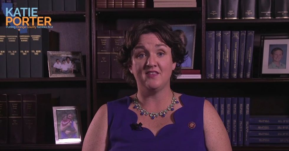 WATCH: Katie Porter explains to constituents why her conscience demands support for Trump impeachment inquiry