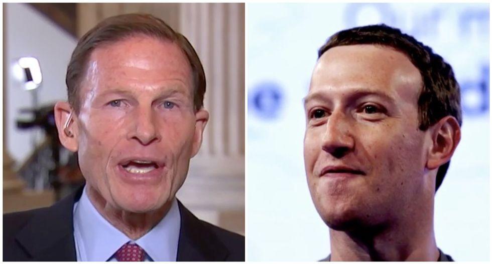 Dem senator demands major Facebook shakeup: The days of trusting Mark Zuckerberg 'are over'