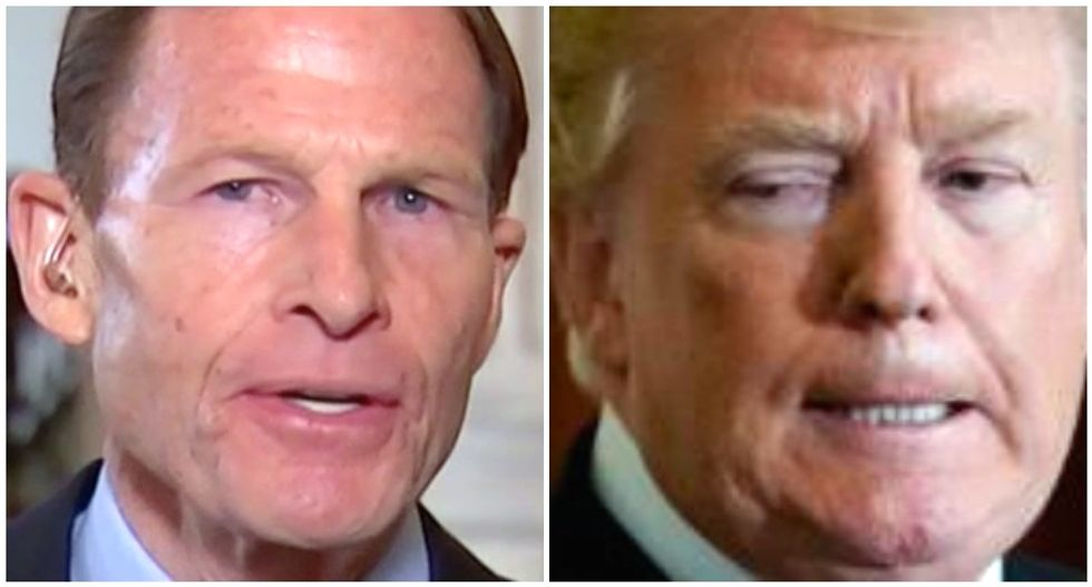 Trump's profound hatred for Democratic Senator dates back to a petty feud over the Empire State Building