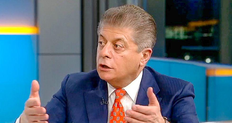 Fox's Judge Napolitano: Trump is 'shooting himself in the foot' if he fires Rosenstein