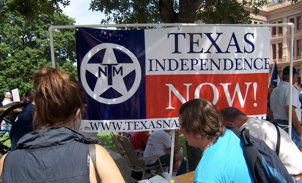 Texas secessionists launch petition drive for vote to break away