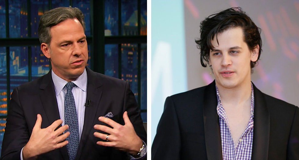 'It's still vile': Milo offers tepid apology for pedophile tape -- but Jake Tapper isn't buying it