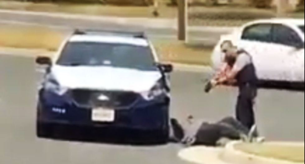 WATCH: Virginia cop instructs black man to turn his back -- then Tasers him for no reason
