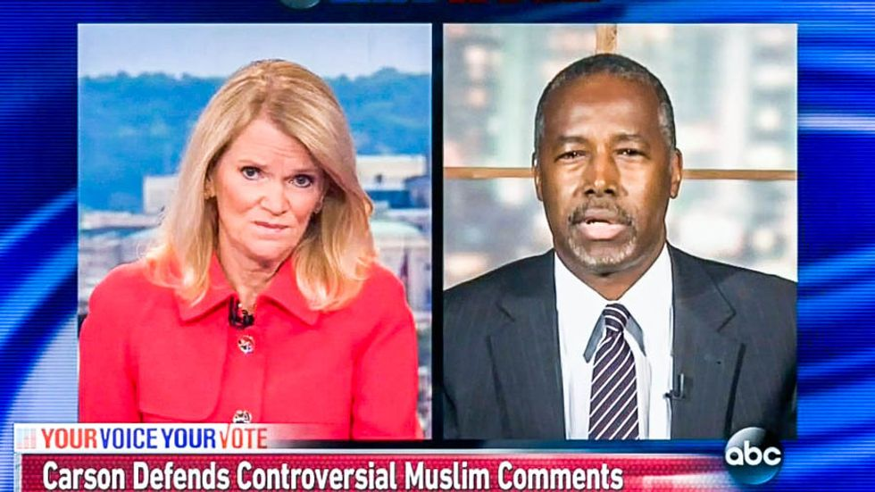Ben Carson: I'm 'certainly willing' to accept Kanye as president, but can't 'take that chance' with a Muslim