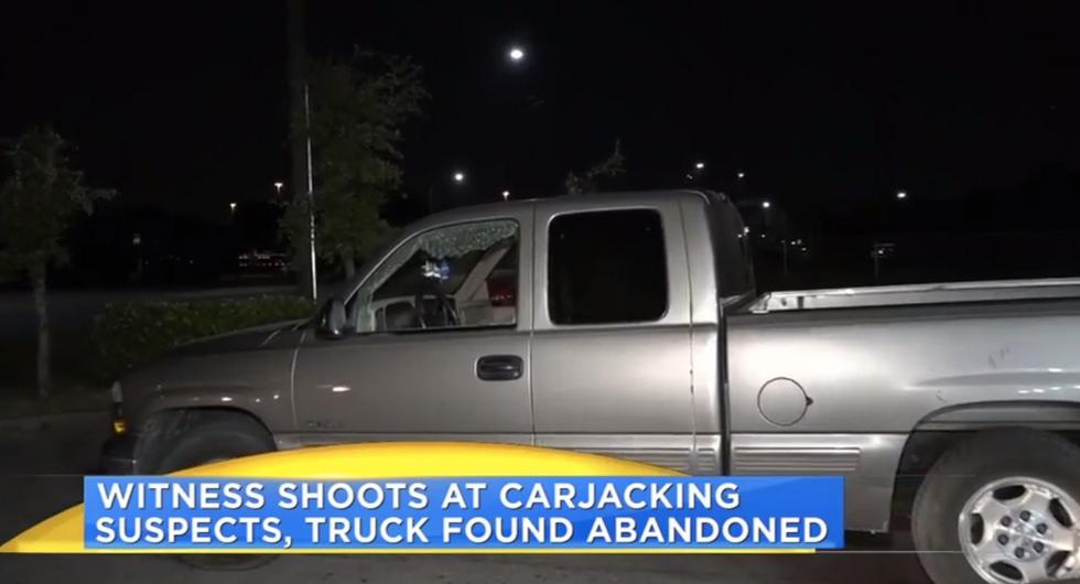Texas 'good guy with a gun' shoots carjacking victim in head -- then runs away