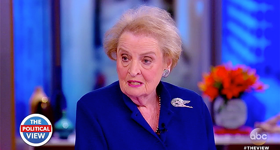 Madeleine Albright slams Trump on The View – and calls out Congress for not stopping our 'most undemocratic president'