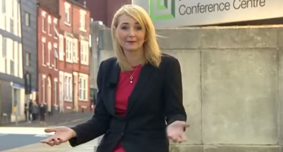 WATCH: Reporter gets harassed by man while filming segment on sexual harassment