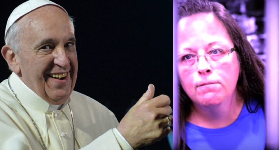 Twitter sentiment on Pope Francis sours over meeting with gay marriage opponent
