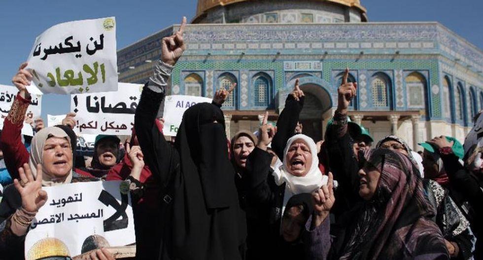 Clashes at Jerusalem holy site as Jewish holiday Sukkot starts