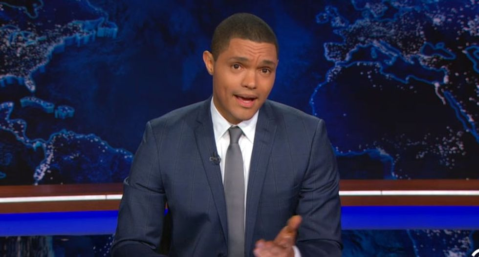 Watch Trevor Noah's first sentimental and hilarious Daily Show opening monologue